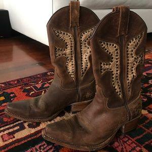 Vintage FRYE daisy duke boots